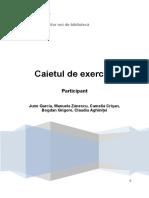 Caietul de Exercitii Pentru Participanti