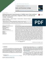 Hydrogeochemical characterization of oilfield waters from southeast Maracaibo Basin (Venezuela)