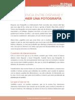La Diferencia Entre Tomar y Crear Fotografia