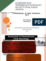 Anamnesis Dan Pemeriksaan Fisik Neurologi Orin
