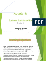 Module 4 - Business Sustainability