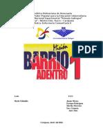 Informe de Barrio Adentro