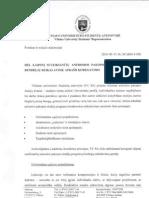 Dėl laipsnį suteikiančių antrosios pakopos studijų programų bendrųjų reikalavimų aprašo koregavimo