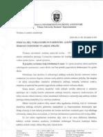 Pozicija dėl vyriausybės nutarimo dėl aukštųjų mokyklų išorinio vertinimo tvarkos aprašo