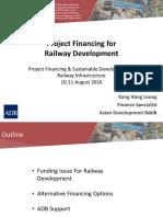 Project Financing for Railway Development