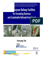 Multi-Purpose Railway Facilities for Increasing Revenue and Sustainable Railroad Investment