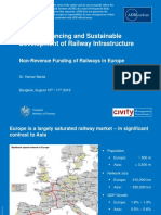 Non-Revenue Funding of Railways in Europe