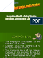 Topic 02 - Osh Legislation