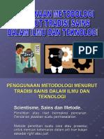 Penggunaan Metodologi Menurut Tradisi Sains Dalam Ilmu Dan (1)