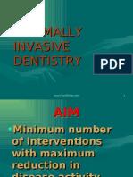 Minmal Invasive Dentistry Pedo