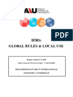 IFRS Global Rules Local Use AAU Prague 2015