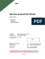 Raytheon Anschütz GmbH - Service Around the World Edition 2015
