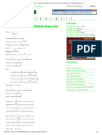 Kunci Gitar Peterpan - Kukatakan Dengan Indah Chord Dasar Kunci Gitar & Lirik Lagu ©ChordTela
