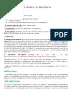 Las vocales y el abecedario PRIMER AÑO 2016.docx