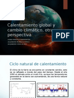 Calentamiento Global Otra Perspectiva