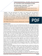 Monetary Policy, Asset Prices and Consumption in China