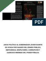 Juicio Político Dr. Duarte