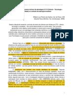 1 - Bases Da Educação CTS – Santos & Mortimer 2002..