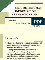 Manejo de Sistemas de Información Internacionales