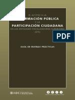 El Acceso a La Informacion Publica y La Participación Ciudadana