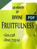 Divine Fruitfulness 1