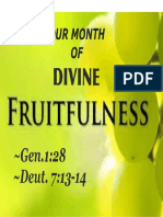 Divine Fruitfulness 1