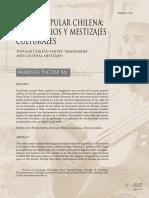 M.facuse. Poesía Popular Chilena
