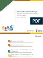 Administración Del Riesgo 2016