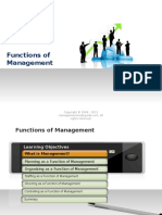 003 Functions of Management