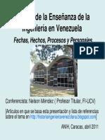 (2011.04.26) MENDEZ Historia Ensenanza Ingenieria