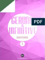 Gerund & Infinitive Soruları