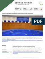 Boletín de noticias KLR 02SEP2016
