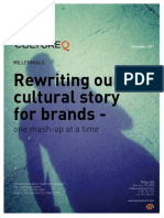 CultureQ Trend Research - Millennials Rewriting our Cultural Story for Brands