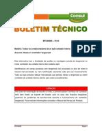 BTCA0085-Ruído No Ventilador Tangencial