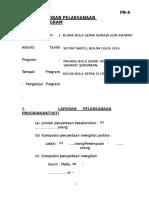contoh Pb-6 Laporan Pelaksanaan