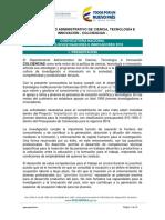 Terminos de ref - Consulta Conv. 761