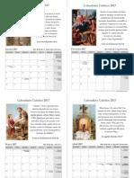 Calendário Católico 2017