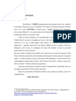 Elisa Carrió presentó una prueba en la causa que involucra al exjefe de la Aduana, Gómez Centurión