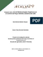 Impacto Del Uso de Biotecnologías en El Control de Roya COMSA