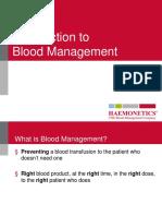 Blood Managment