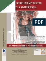 El Suicidio en La Pubertad y La Adolescencia