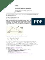 Diseño de mecanismos Validación 1 biela manivela
