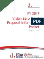 FY17 Vision Zero Grant Application (OGC-8!29!16)(FINAL)