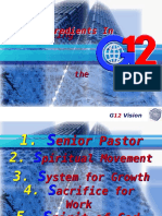 Basic Ingredients in Implementing the the G12 Vision