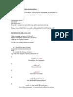 Revision of Balagha&Ilmul Maani