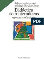 GALVEZ - La Didáctica de Las Matemáticas