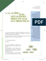 Min. Ed. de Perú - La TSD de G. Brousseau (Extracto 2016)