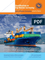 Professional Qualification in Commercial Ship Marine Surveying Prospectus