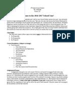 8th grade syllabus