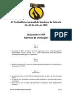 FISP 16 - Normas Alojamento FISP